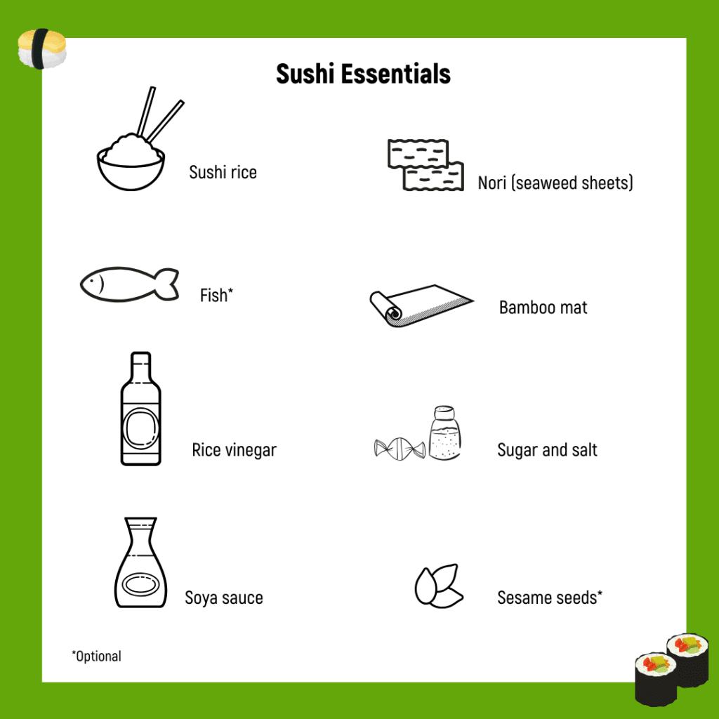 Sushi essentials