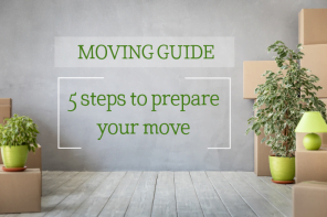 MOVING GUIDE - 5 steps to prepare your mve