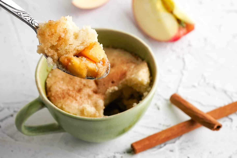 Apple-cinamon-mug-cake