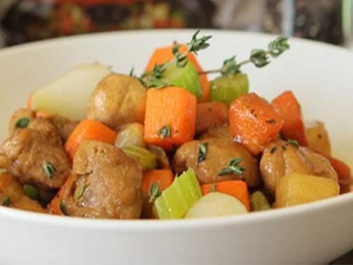 Slow Cooker Pork and vegetables