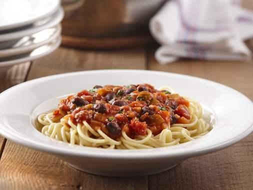 Sauce à spaghetti aux haricots noirs