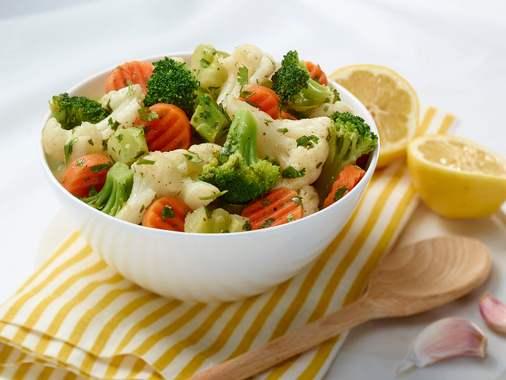 Salade de légumes à la marocaine