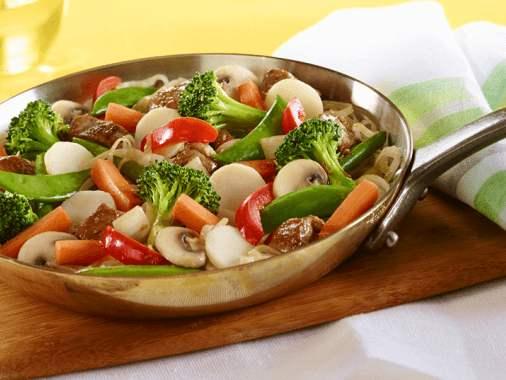 Noodles with Pork and Lemongrass Stir fry