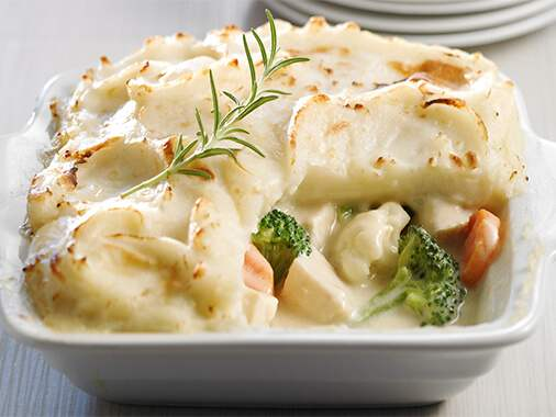 California Chicken and Vegetable Pie