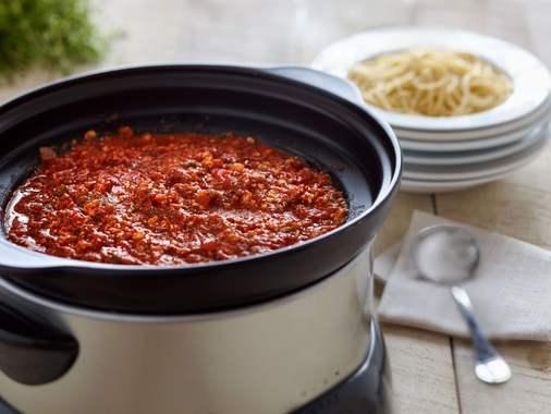 Slow Cooker Vegetarian Spaghetti Sauce