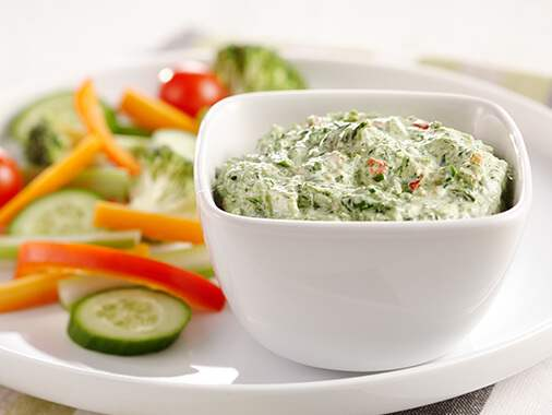 Homemade Spinach dip