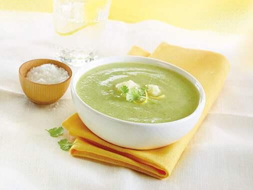 Crème de brocoli et chou-fleur