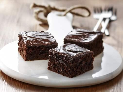Brownies aux petits pois