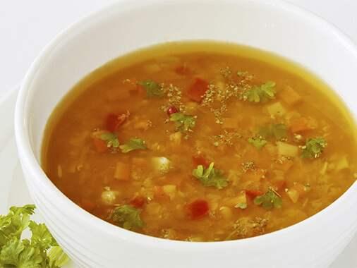 Soupe de légumes à la mijoteuse