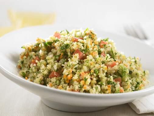 California Vegetable Tabbouleh