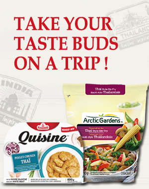 Take your taste buds on a trip!